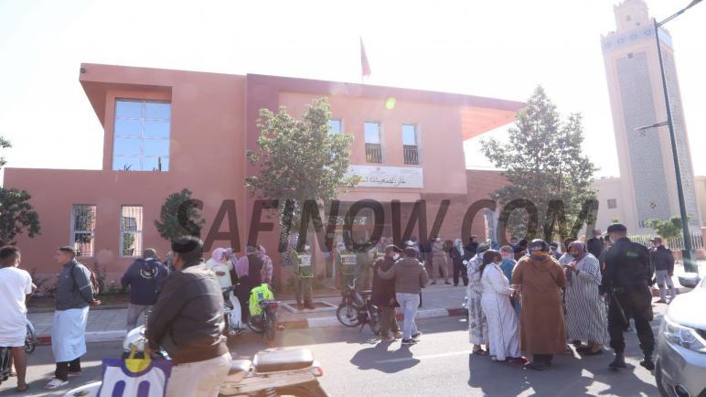 مراكش: استمرار احتجاجات الباعة المتجولين المقصيين من سوق المحاميد 9
