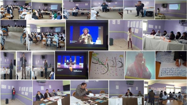 أسفي : سماء الفارابي بأيير تمطر صنوفا من الإبداع المواطن خلال منتدى تلاميذي موسع