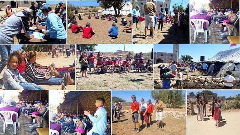 جمعية أولاد علي بأيير تخرج الأطفال لفضاءات واسعة لتكريس ثقافات التقدم و الاتحاد و السلام