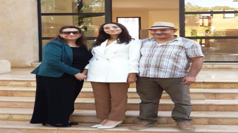 حصول الطالبة سلمى القاروني على دبلوم مهندس الدولة من المدرسة الوطنية للعلوم التطبيقية بمراكش