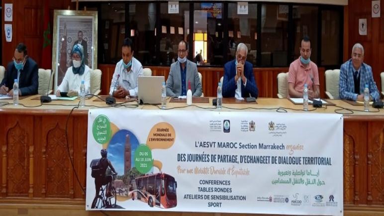 جمعية مدرسي علوم الحياة والأرض بالمغرب تقارب موضوع النقل المستدام