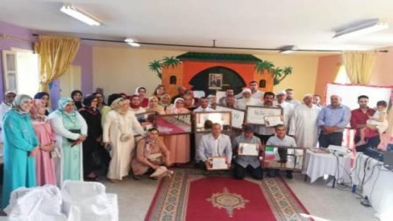 الثانوية الإعدادية عثمان بن عفان بالأوداية تنظم حفل الوفاء لأهل البذل والعطاء