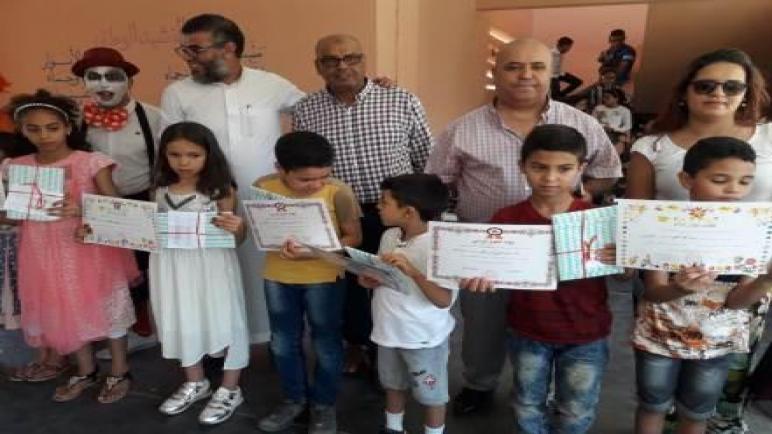 مدرسة رياض الحمامة بتامنصورت تنظم حفل التفوق الدراسي