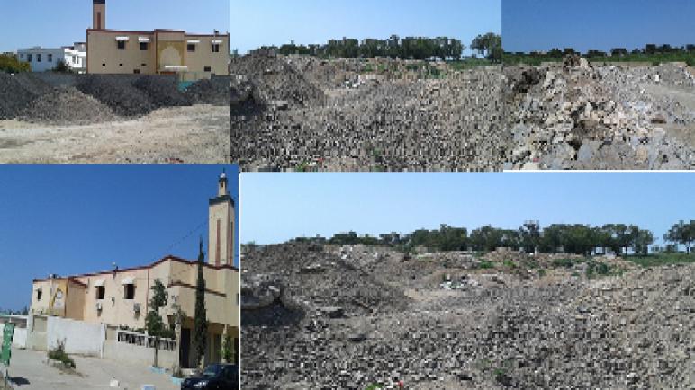 الأضرار البيئية لشركة تهيئة و إصلاح شارع الفقيه الهسكوري بآسفي