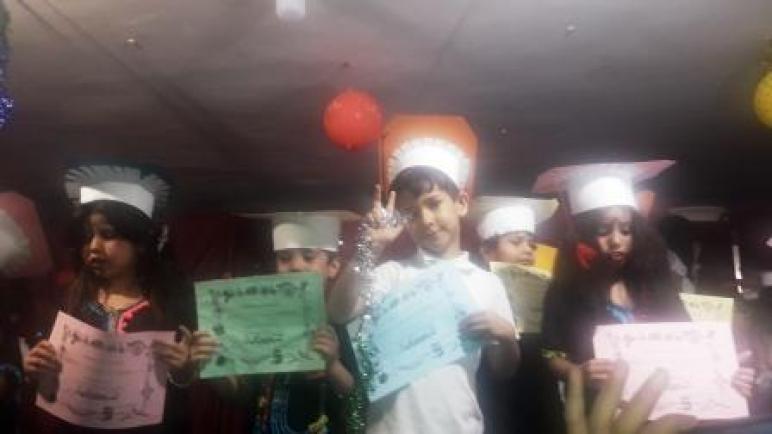 حفل اختتام الموسم الدراسي بالتعليم الأولي لمؤسسة المنال بمراكش