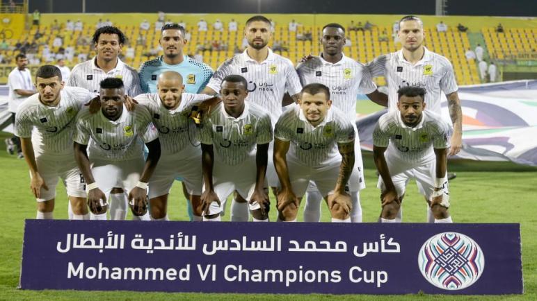 هده بعض الإحصائيات عن فريق الاتحاد السعودي وأولمبيك آسفي المغربي