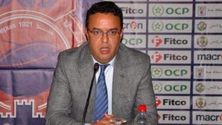 أنور ادبيرة رئيس أولمبيك آسفي: نتطلع لتكون مشاركتنا أفضل