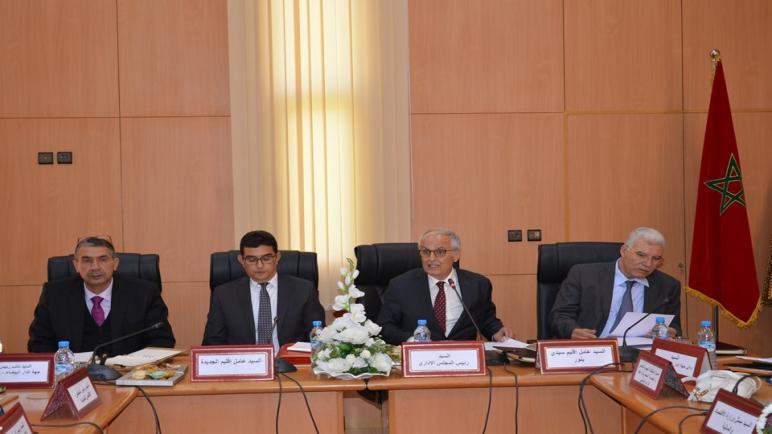 انعقاد لجنة الاستثمار والاستراتيجية خلال الدورة العاشرة للمجلس الإداري للوكالة الحضرية الجديدة -سيدي بنور، سابقة على مستوى الوكالات الحضرية بالمملكة