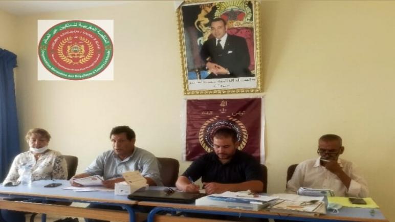 المنظمة المغربية للملكيين عبر العالم بآسفي تأسيس الفرع المحلي لبوكدرة و دار القائد سي عيسى