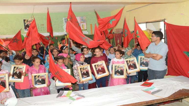 مجموعة مدارس خميس نكا تنظم مهرجانا تربويا وطنيا