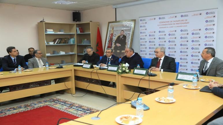 توقيع مذكرة تفاهم بين جهة مراكش أسفي ومجموعة البنك الشعبي.
