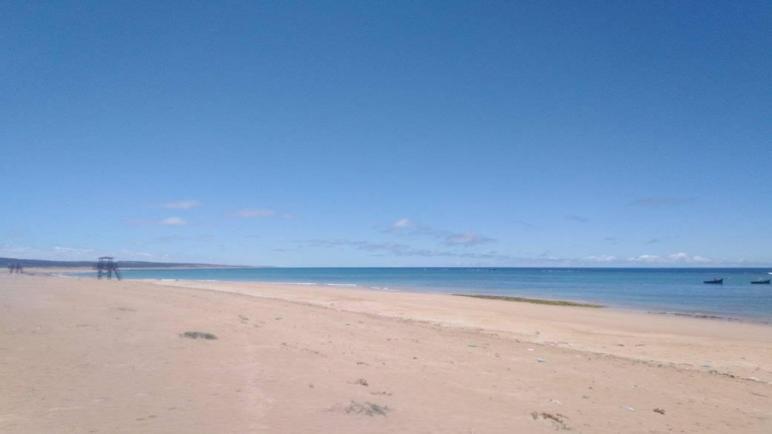 تدابير أمنية مشددة في شاطئ الصويرية إقليم أسفي