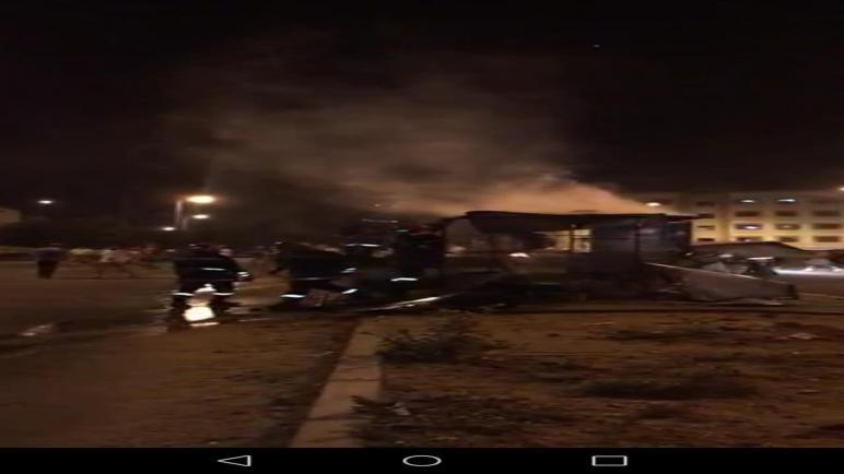 انفجار قنينة غاز داخل محل لحارس ليلي بآسفي.