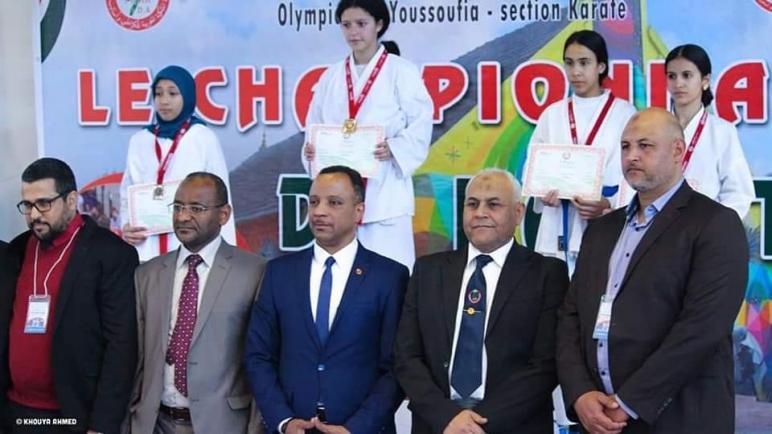 البطولة الجهوية في رياضة الكراطي صنف تباري