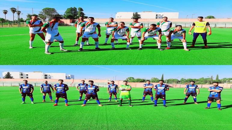 التعادل يحسم مباراة شباب الدغالين وشباب أولمبيك وزان