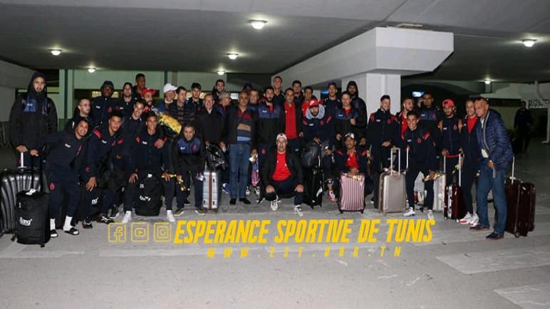 بعثة أولمبيك أسفي تصل تونس