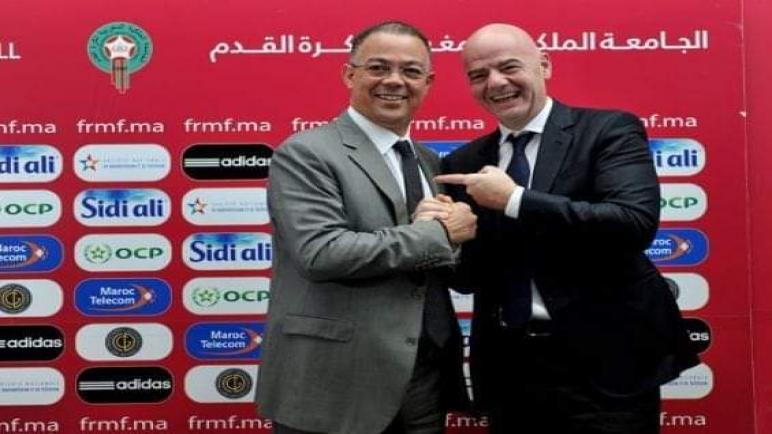 ايفانتينو يقوم بزيارة عمل للمغرب ويلغي الجزائر من برنامجه