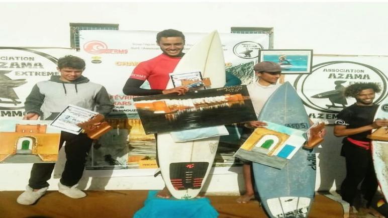 اسفي تتاهل لنهائي بطولة المغرب لركوب الموج 2020