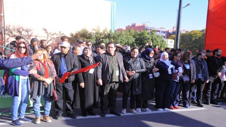 نجاح باهر للسباق الدولي الأول على الطريق بمدينة مراكش