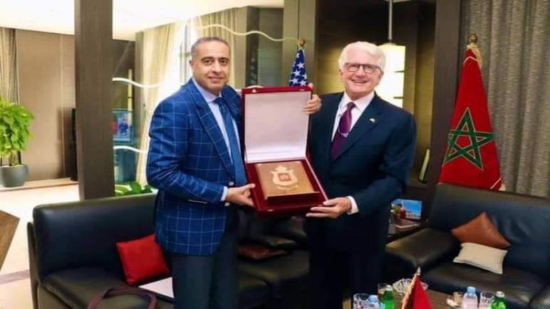 السيد حموشي يستقبل بالرباط سفير الولايات المتحدة الأمريكية بالمملكة (بلاغ DGST)
