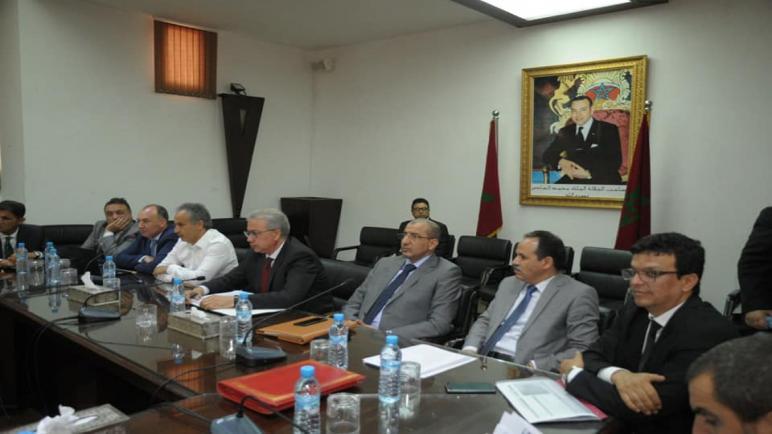 جهة مراكش أسفي تخصص إجتماع لدراسة مشروع المخطط المديري لمناطق اللوجستيك لجهة مراكش آسفي.