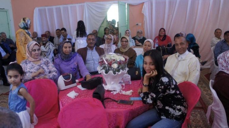 هيأة التربية والتعليم تكرم الإطار الإداري أحمد بورار بمدرسة عبد الرحيم بوعبيد بجزولة