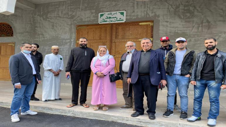 """مبادرة إنسانية لقنصلية المملكة المغربية ببونطواز واللجنة المكلفة بمساعدة العالقين ب """" مونت لا جولي"""" والضواحي ضد جائحة """" كورونا"""""""
