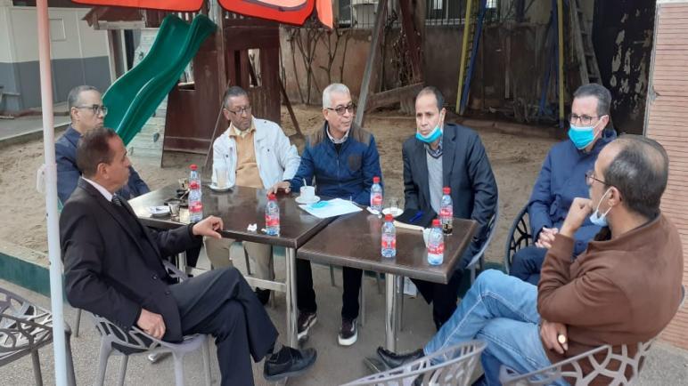 اجتماع تواصلي للمكتب الاقليمي لأطر الإدارة التربوية بالدار البيضاء أنفا.