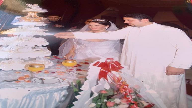 """صور زفاف الزميلة قائمة بلعوشي قديمة ونشرتها من أجل """" التحدي"""
