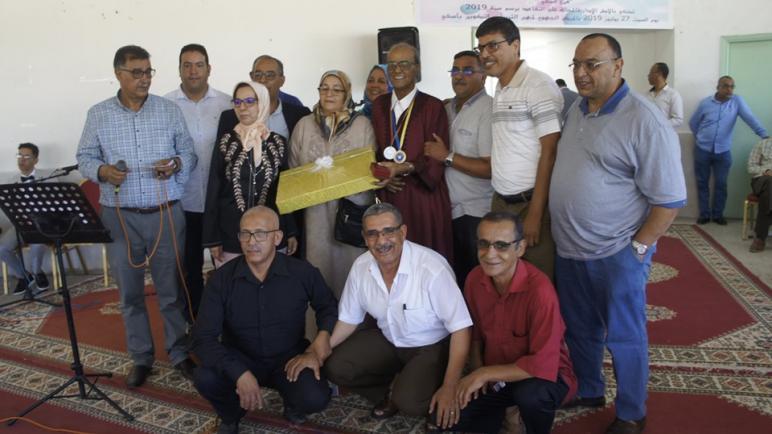 الجمعية الوطنية لمديرات ومديري التعليم الابتدائي بالمغرب فرع أسفي حفلا تكريميا للأطر الإدارية المحالة على التقاعد