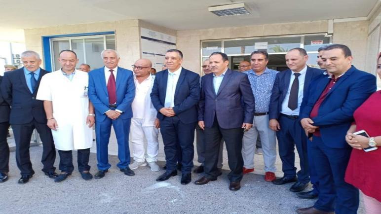 عامل إقليم آسفي يشرف على افتتاح وحدة الإنعاش والعلاجات المركزة ووحدة جراحة الأطفال بمستشفى محمد الخامس بآسفي