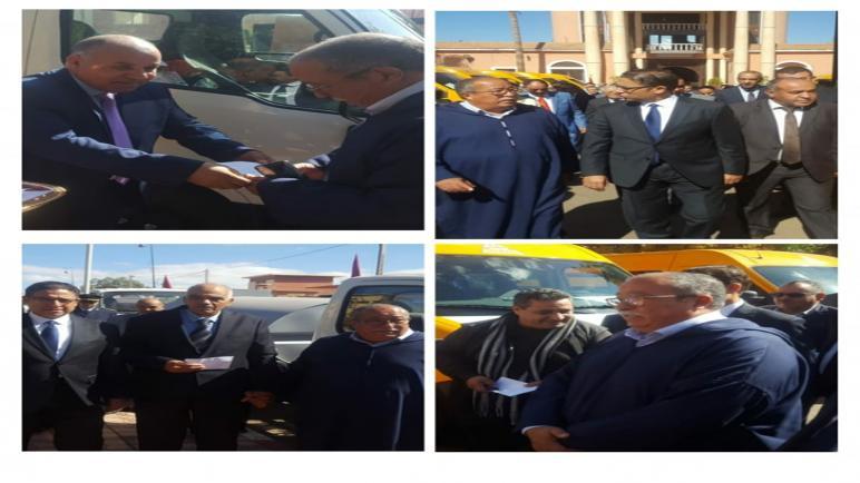 إقليم الحوزيشرع في تقديم المشاريع المندرجة ضمن برنامج تقليص الفوارق الاجتماعية