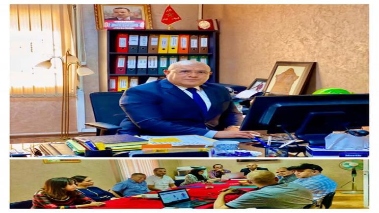 """زكرياء طريق الرئيس المدير لمؤسسة """" IPIAB"""" منخرطون في التوجهات العامة لبلادنا وهذا ما فعلناه مع الأساتذة والطلبة"""