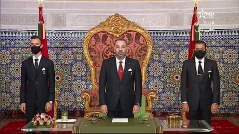 صاحب الجلالة الملك محمد السادس، نصره الله، مساء اليوم السبت، خطابا ساميا إلى الأمة بمناسبة الذكرى الخامسة والأربعين للمسيرة الخضراء المظفرة.