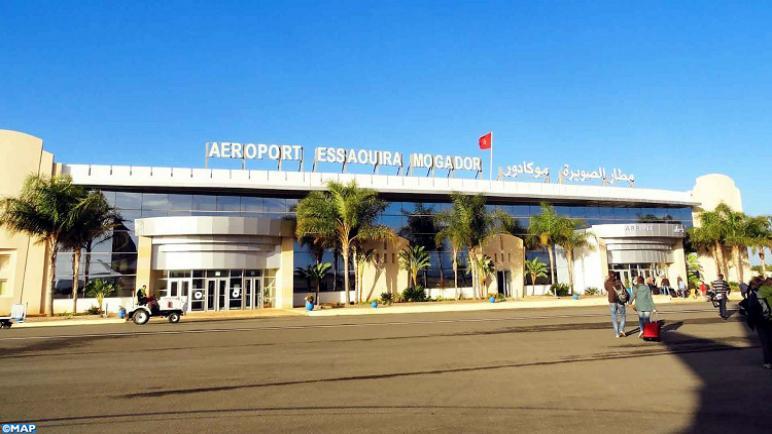 تراجع حركة النقل الجوي بمطار الصويرة موكادور بنحو 65 بالمائة