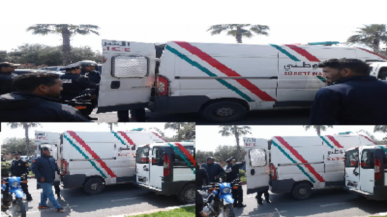 اعتقال شخصين بتهمة سرقة دراجات نارية و تزوير وثائقها بمراكش…