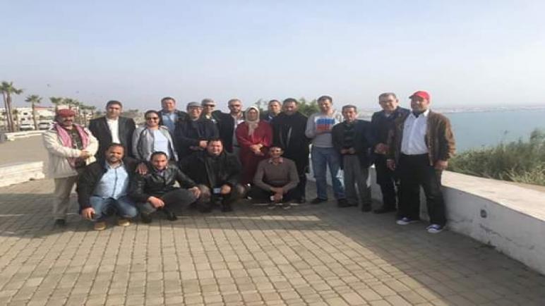 الرابطةالمغربية للمواطنة وحقوق الإنسان تصدرا بلاغا تضامنيامع عضوها عبد الإله الواثيق…