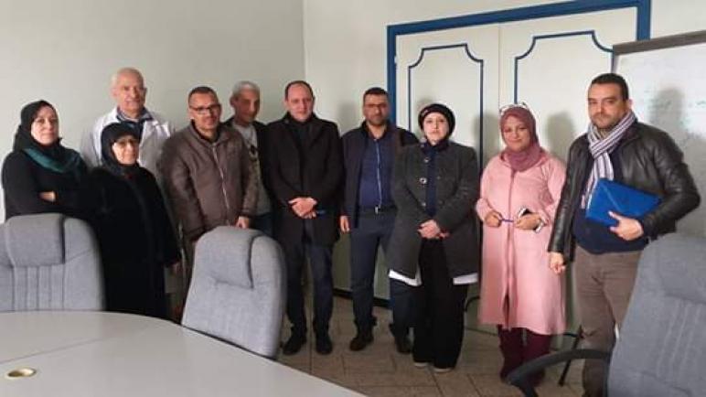 المكتب النقابي للصحة Odt في لقاء مع إدارة مستسفى محمد الخامس بأسفي.