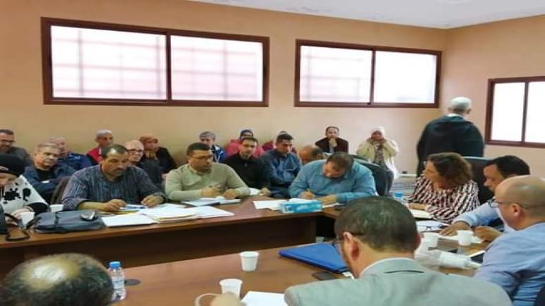بمراكش :نقابة ODTللصحة تترافع عن القطاع بحضور المديرة الجهوية والمناديب الإقليميةللصحة …
