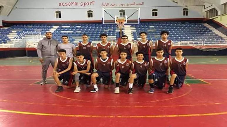انتصار شبان اولمبيك اسفي لكرة السلة