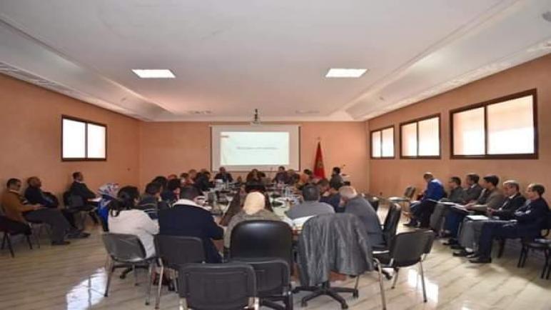 لقاء جهوي حول مستجدات سبل تطبيق الجهوية بقطاع الصحة مراكش -أسفي.