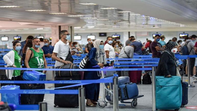 كورونا: منع الطائرات القادمين من 4 دول من ولوج التراب الوطني