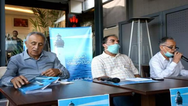 """حفل توقيع كتاب: """"الجديدة بين الأمس واليوم"""" لمؤلفه نورس البريجة: خالد الخضري."""