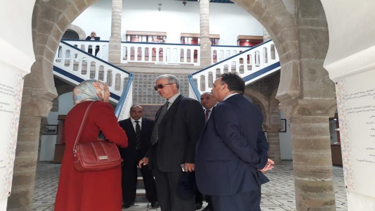 والي جهة مراكش آسفي يطلع رفقة عامل إقليم الصويرة على المشاريع الكبرى لمدينة الصويرة