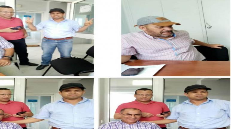 اعتصام مكتب ودادية الاخلاص م الوطني للماء والكهرباء بأسفي