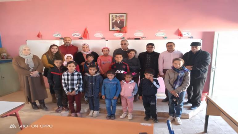 نشاط بيئي تربوي بمجموعة مدارس أولاد أحمد بأسفي.