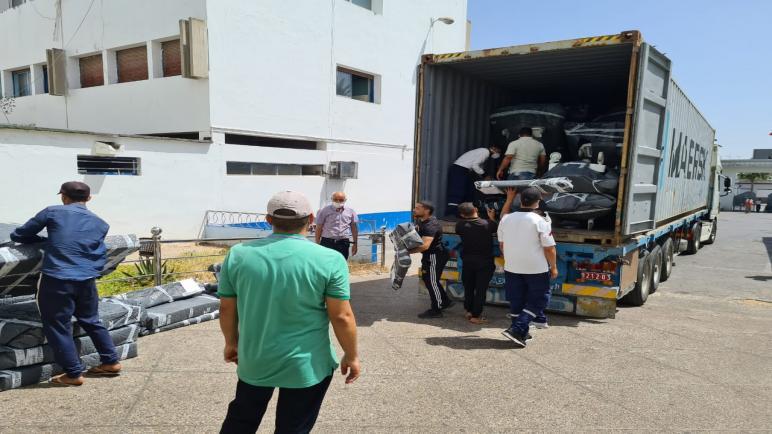 تجهيزات طبية حديثة تصل مستشفى محمد الخامس بأسفي وتعزز العرض الصحي بالإقليم ..