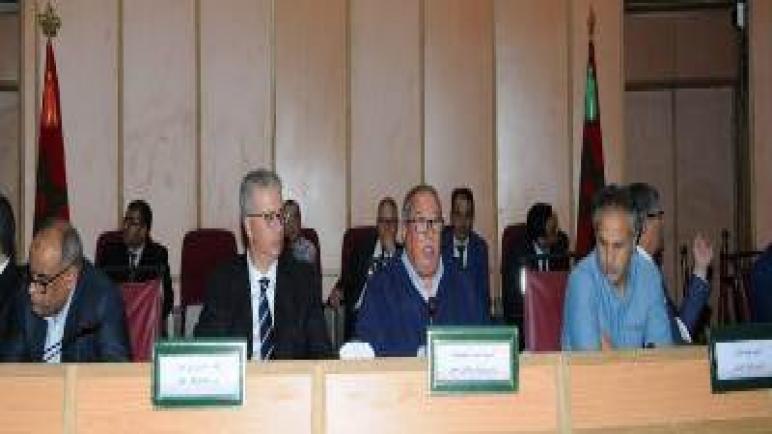 انعقاد الدورة العادية لشهر أكتوبر لمجلس جهة مراكش أسفي