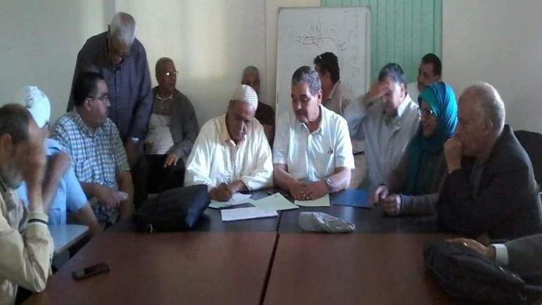 فؤاد الياجيزي رئيس لجمعية متقاعدات ومتقاعدي التعليم باسفي
