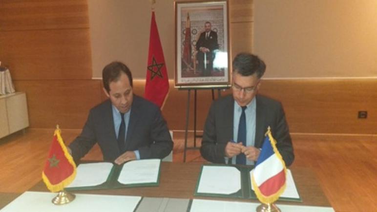 لقاء مديري المكتب المغربي للملكية الصناعية والتجارية والمعهد الوطني للملكية الصناعية بفرنسا.